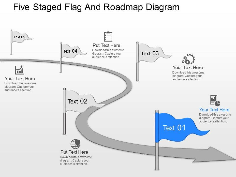 how to make a roadmap in powerpoint