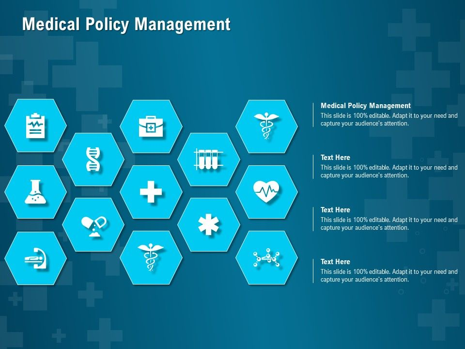 Medical Policy Management Ppt Powerpoint Presentation Inspiration Format