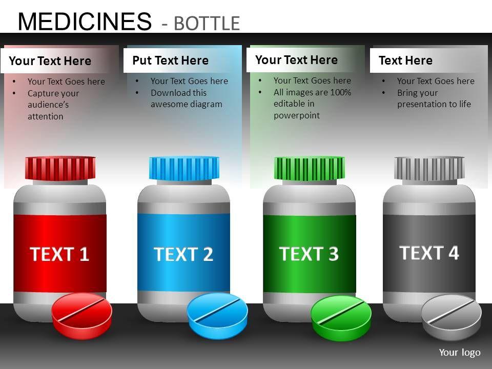 medicine bottles powerpoint presentation slides db powerpoint