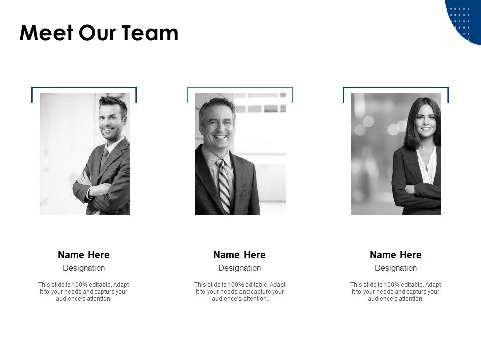 Meet Our Team Communication Introduction A3 Ppt Powerpoint Presentation Icon Infographic