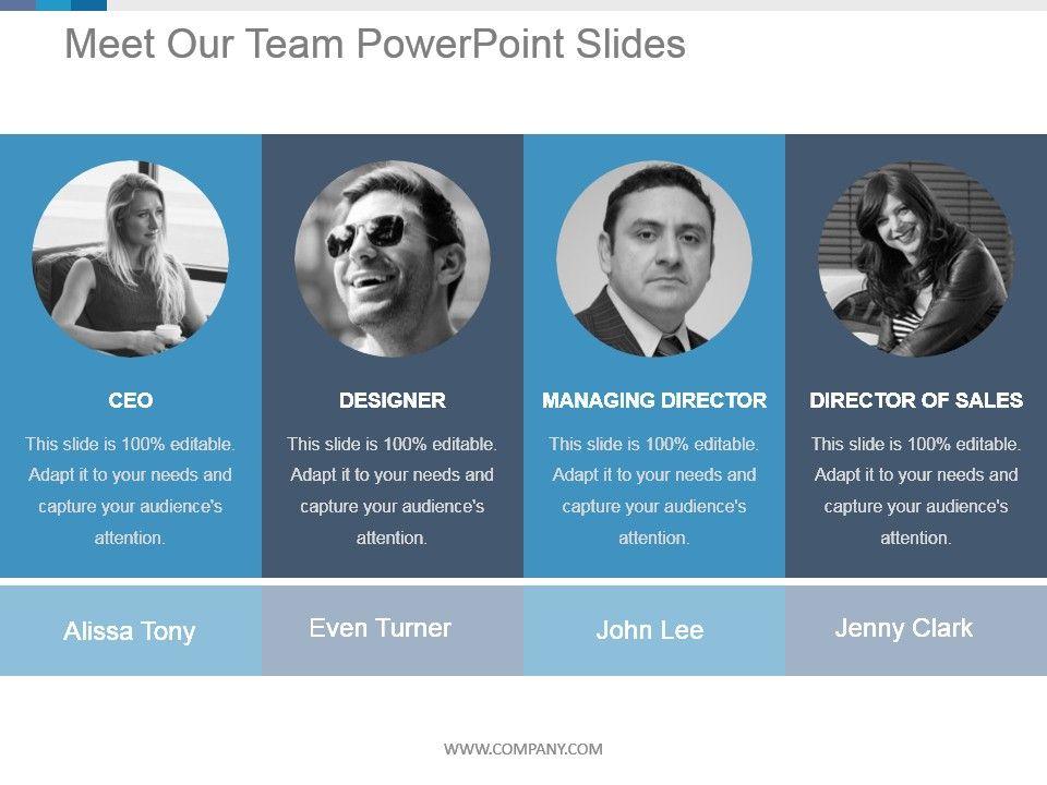 60053124 Style Essentials 1 Our Team 4 Piece Powerpoint Presentation