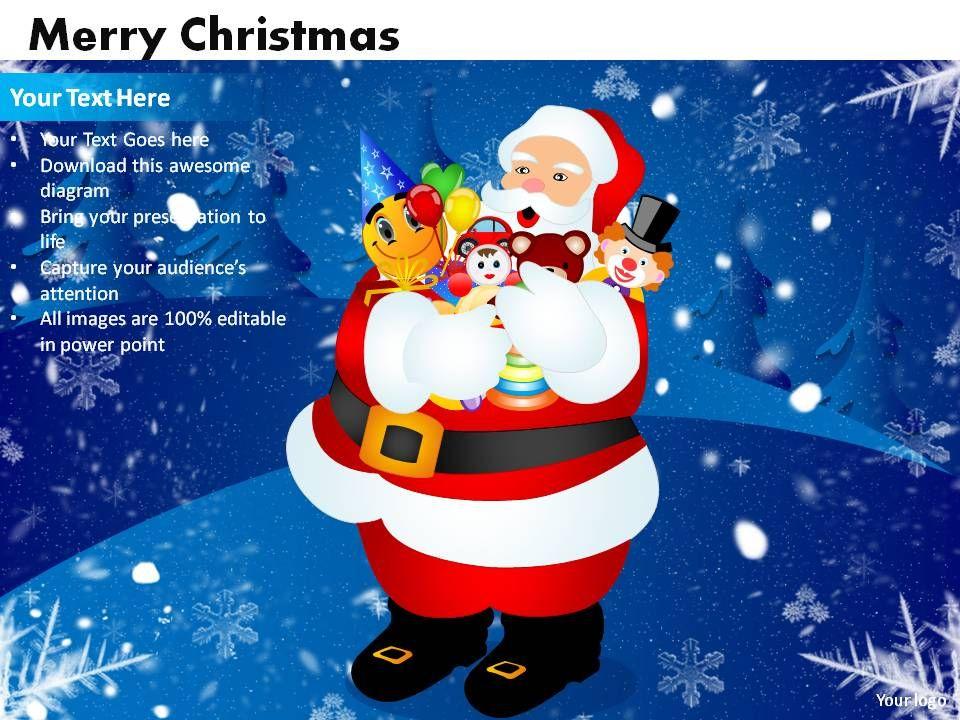 Merry Christmas Powerpoint Slides Powerpoint Slide