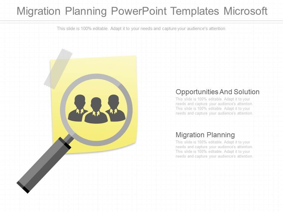 migration planning powerpoint templates microsoft powerpoint