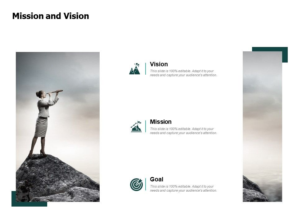 Mission And Vision Goal F348 Ppt Powerpoint Presentation Layouts Inspiration