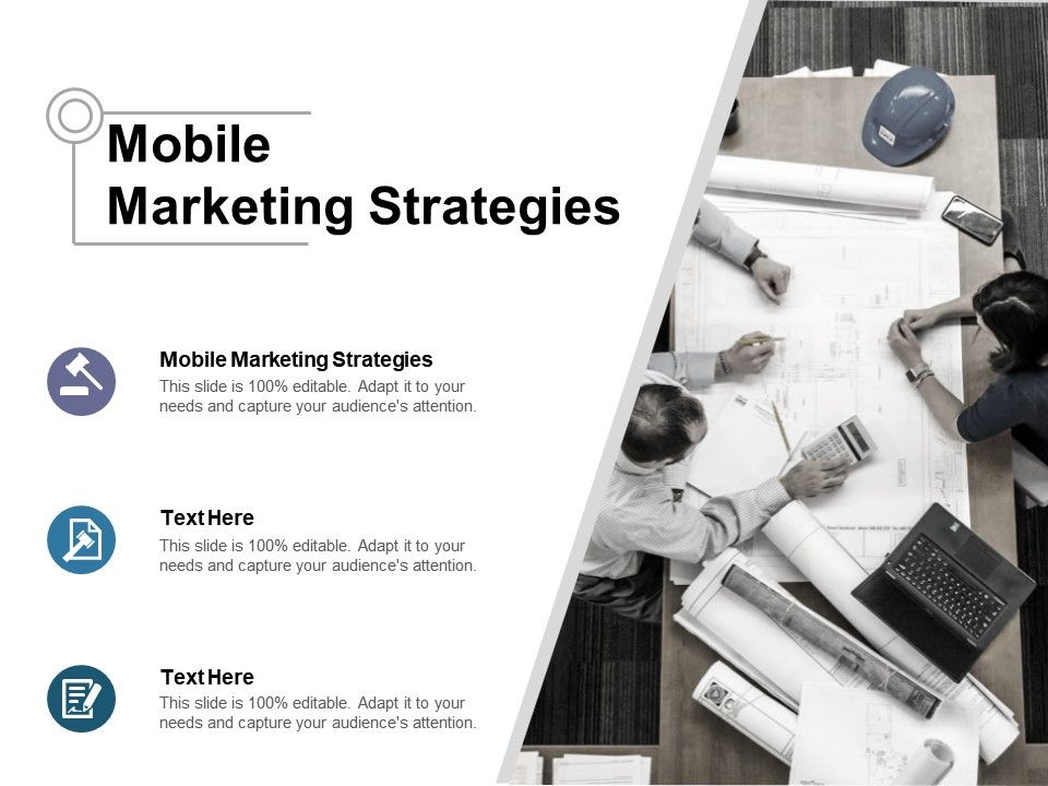 Mobile Marketing Strategies Ppt Powerpoint Presentation File Layout
