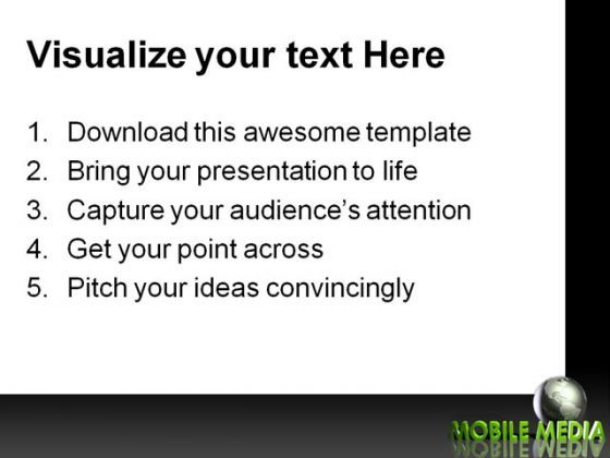 Mobile Media Communication PowerPoint Templates And PowerPoint Backgrounds 0311  Presentation Themes and Graphics Slide03