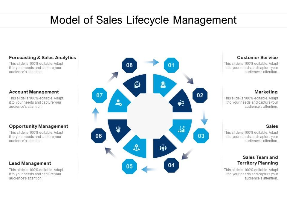 Model Of Sales Lifecycle Management