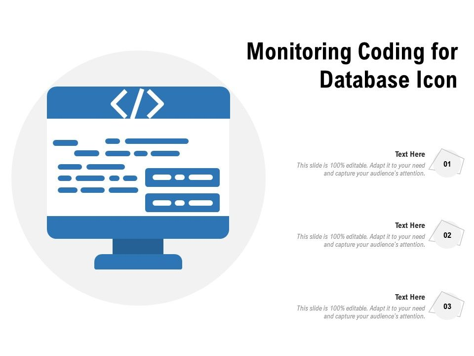 Monitoring Coding For Database Icon
