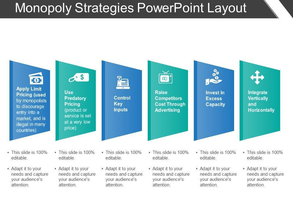 Monopoly Strategies Powerpoint Layout Slide01 Slide02 Slide03