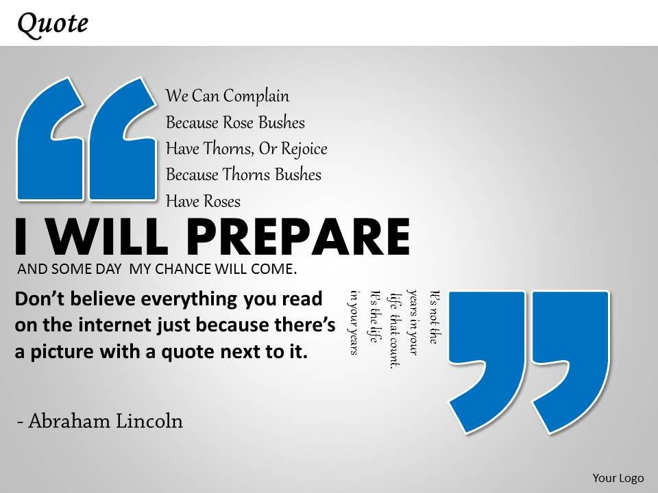 Powerpoint Template Quotes