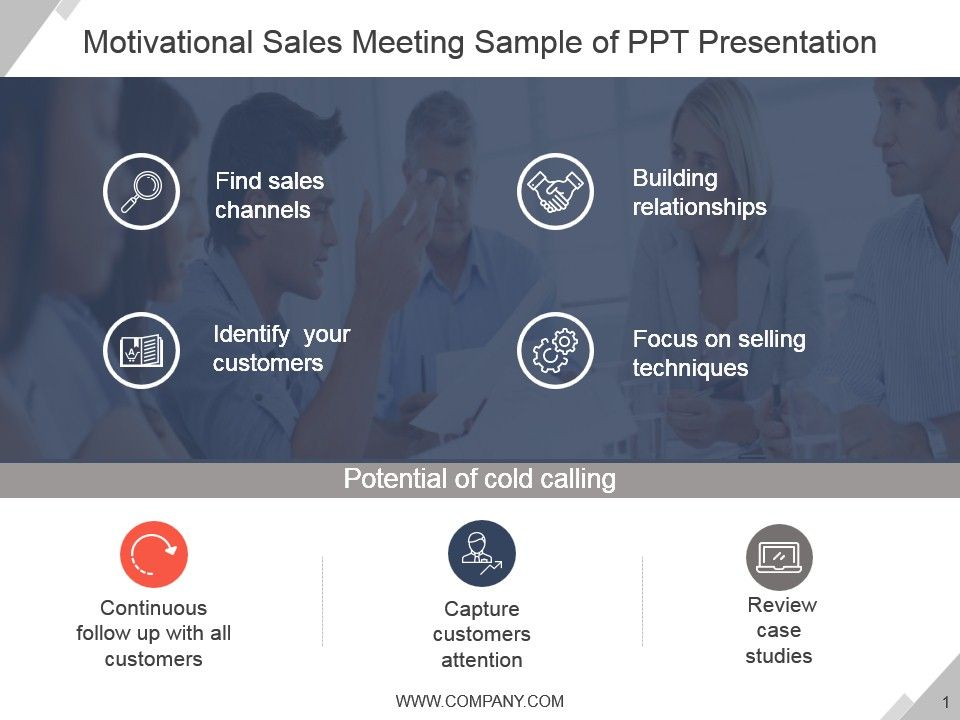 motivational sales meeting sample of ppt presentation graphics