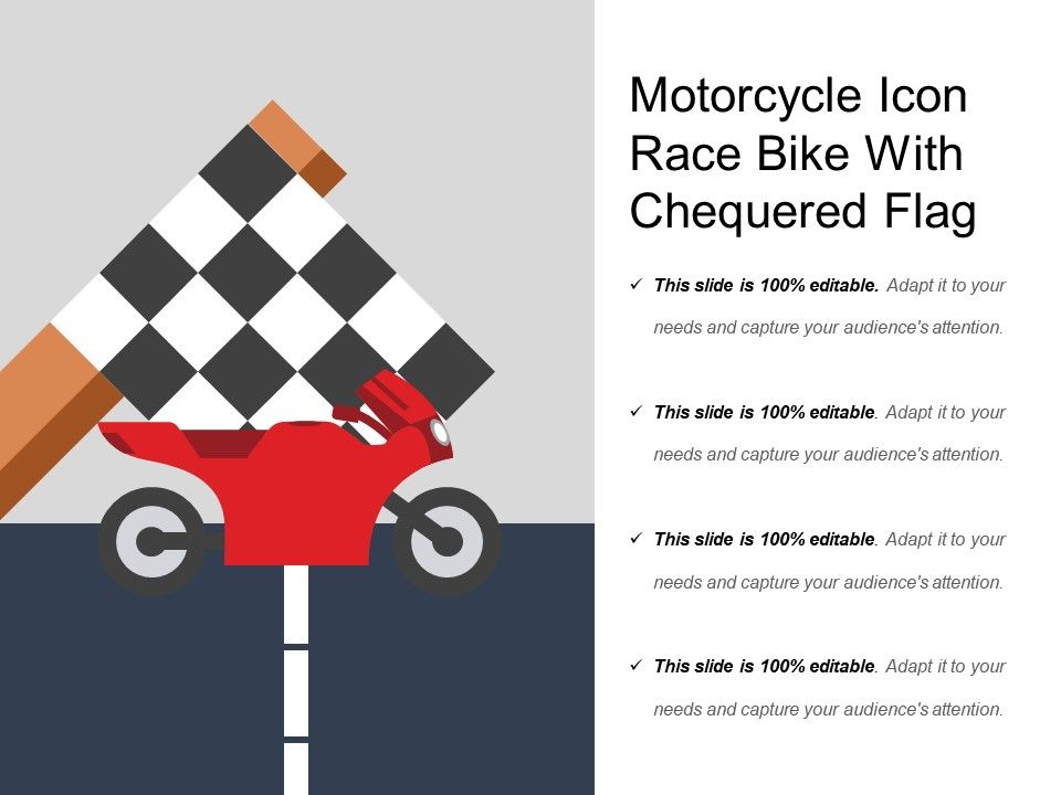 Motorcycle icon race bike with chequered flag powerpoint slide motorcycleiconracebikewithchequeredflagslide01 motorcycleiconracebikewithchequeredflagslide02 toneelgroepblik Image collections