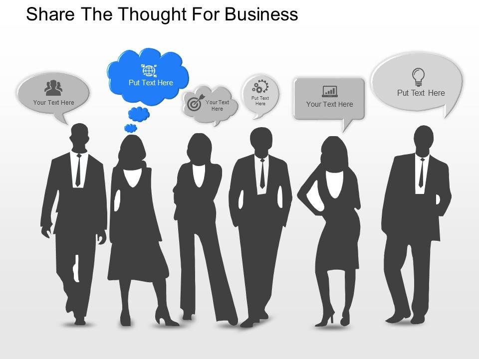 mr share the thought for business powerpoint template | powerpoint, Presentation templates