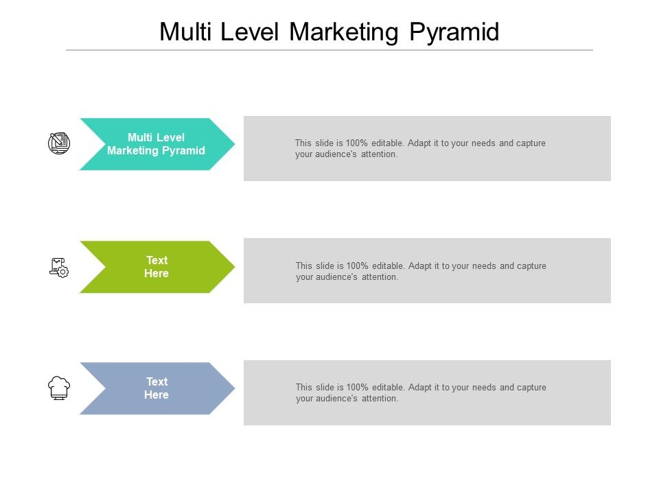 Multi Level Marketing Pyramid Ppt Powerpoint Presentation Layouts Background Images Cpb
