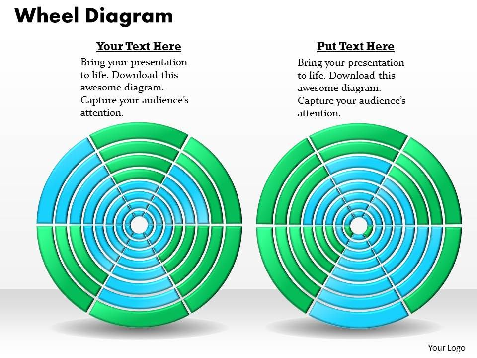 Wheel Powerpoint Template Powerpoint Template Slide