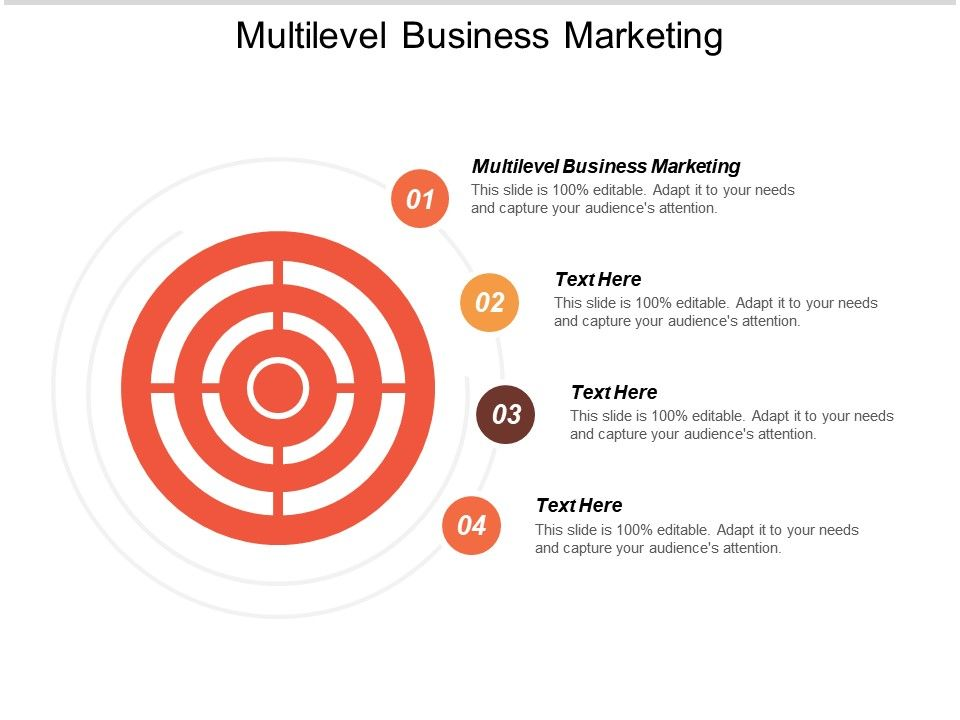 Multilevel Business Marketing Ppt Powerpoint Presentation