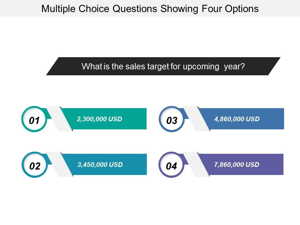 Multiple choice questions showing four options powerpoint multiplechoicequestionsshowingfouroptionsslide01 multiplechoicequestionsshowingfouroptionsslide02 toneelgroepblik Choice Image