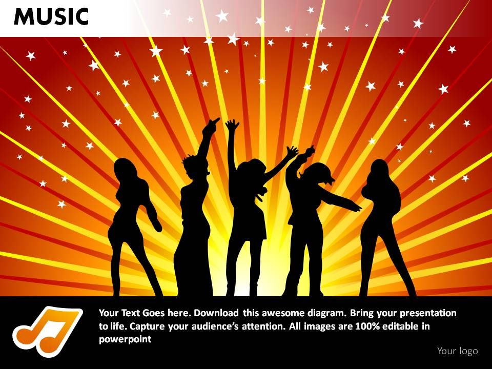 how to put music on the powerpoint slide show