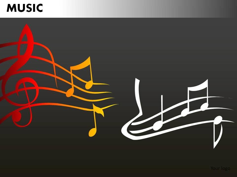 music powerpoint presentation slides