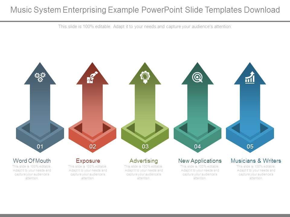 music_system_enterprising_example_powerpoint_slide_templates_download_Slide01