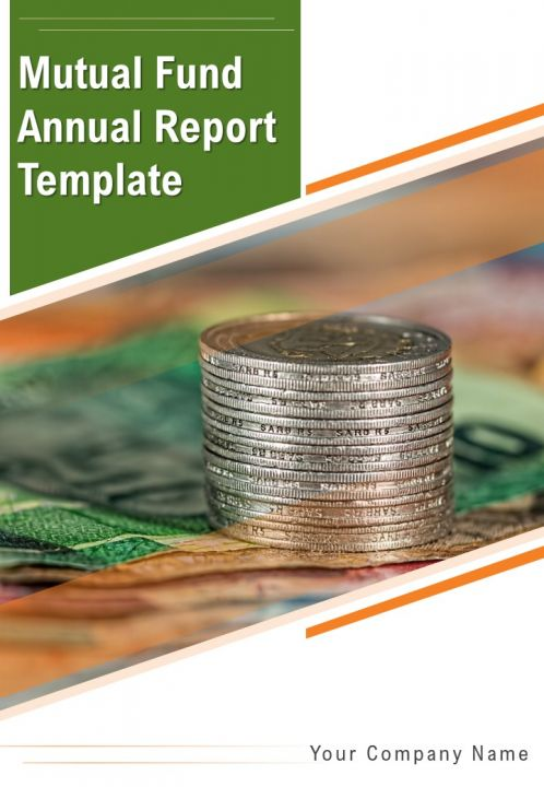 Mutual Fund Annual Report Template PDF DOC PPT Document Report Template