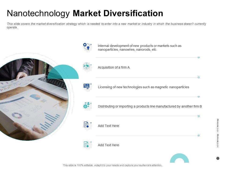 Nanotechnology Market Diversification Importing Ppt Powerpoint Presentation Inspiration Brochure
