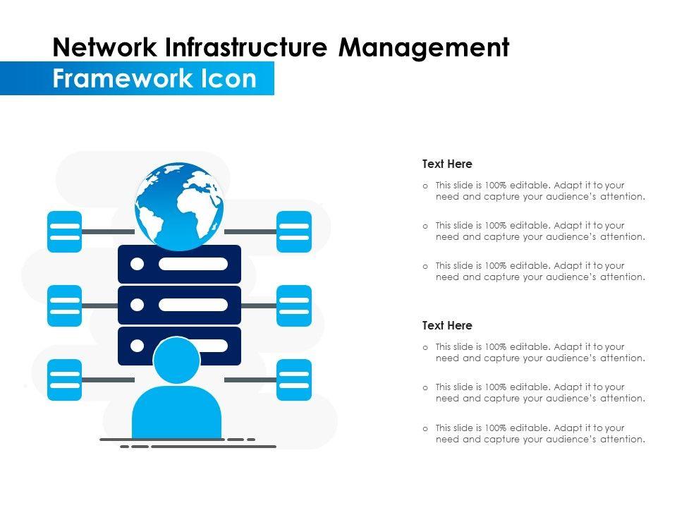Network Infrastructure Management Framework Icon