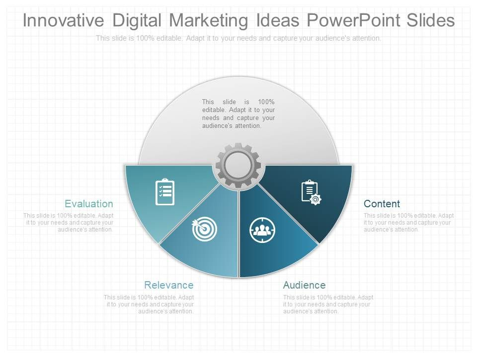 new innovative digital marketing ideas powerpoint slides