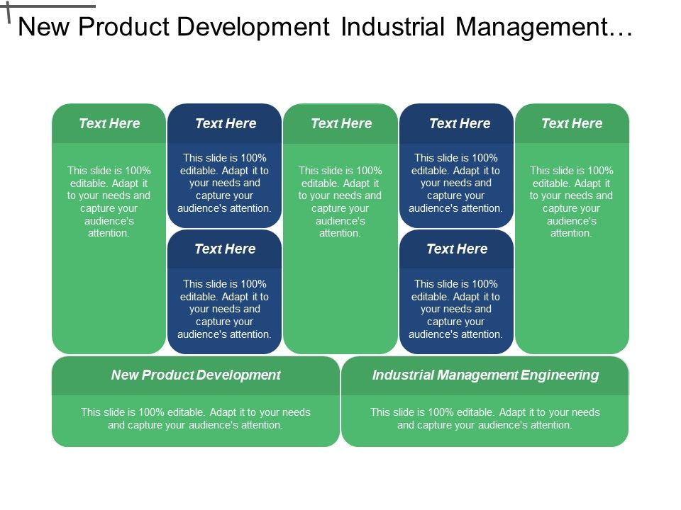 New Product Development Industrial Management Engineering Employment Change Cpb Powerpoint Design Template Sample Presentation Ppt Presentation Background Images
