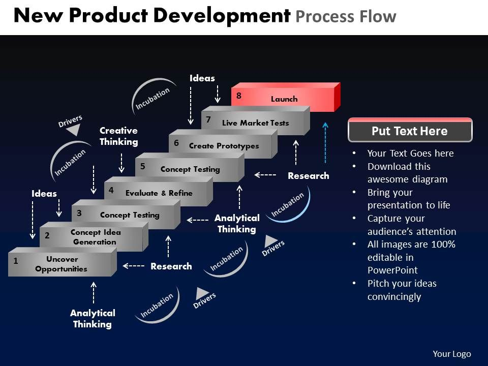 new_product_development_process_flow_powerpoint_slides_and_ppt_templates_db_Slide10