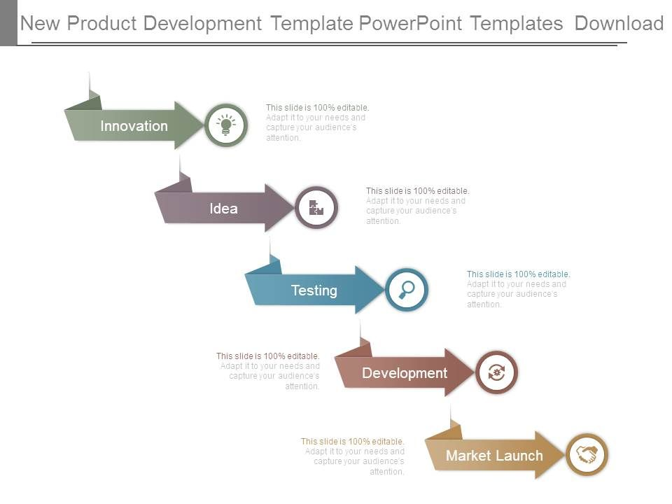 new product development template powerpoint templates download