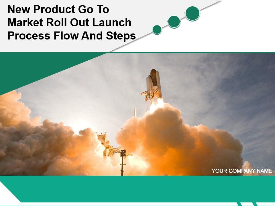 new product go to market roll out launch process flow and steps