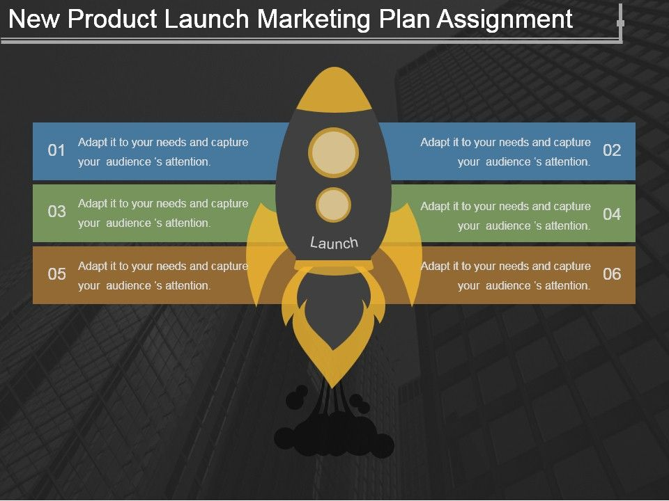 New Product Launch Marketing Plan Assignment Ppt Background