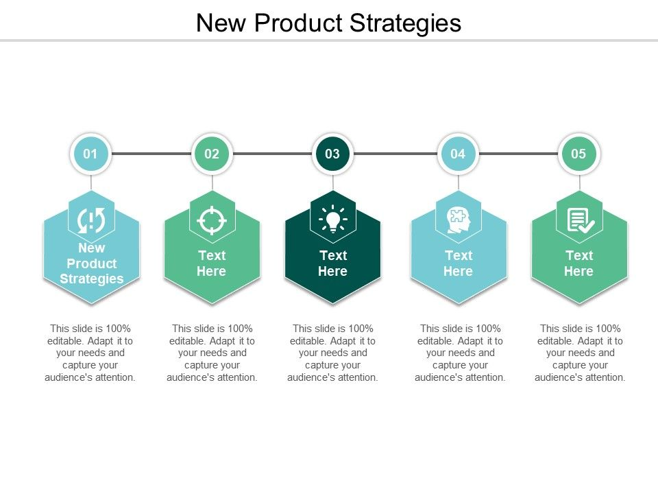 New Product Strategies Ppt Powerpoint Presentation Ideas