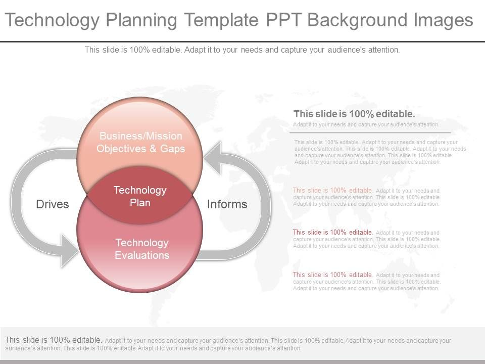 New Technology Planning Template Ppt Background Images  Ppt Images