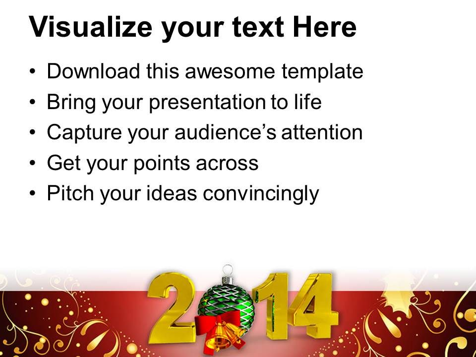 New year 2014 party theme powerpoint templates ppt backgrounds for newyear2014partythemepowerpointtemplatespptbackgroundsforslides1113slide02 toneelgroepblik Gallery