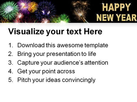 New Year Celebration Festival Powerpoint Templates And Powerpoint