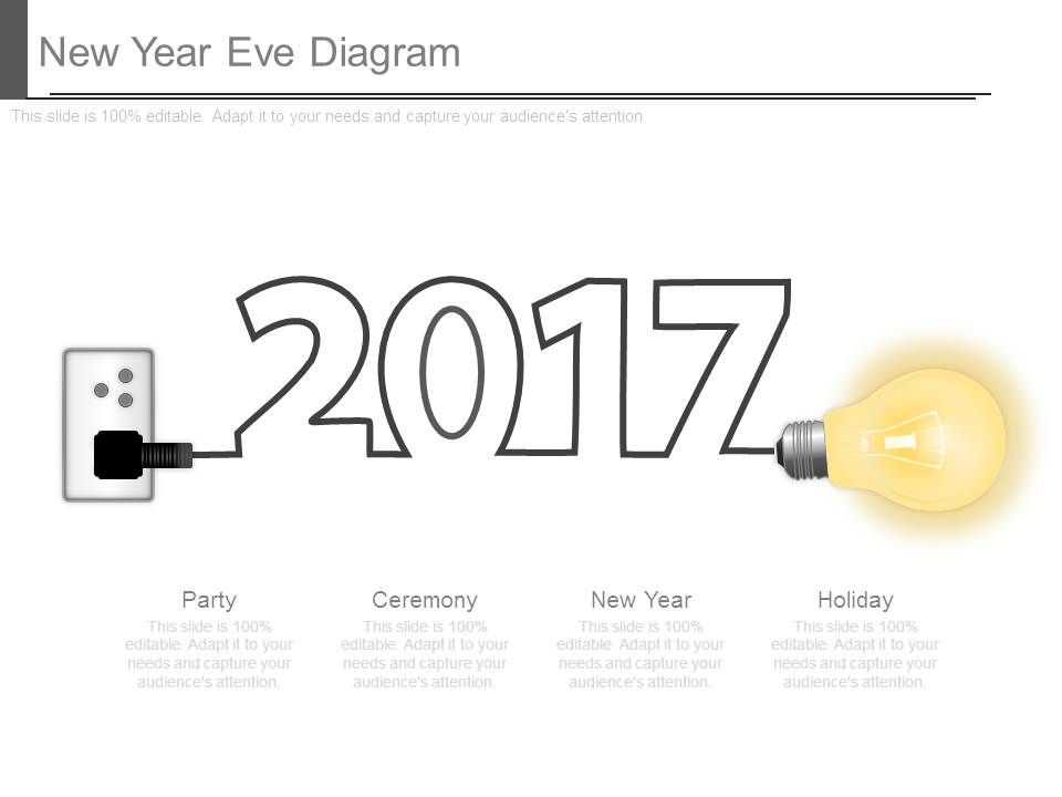 new year eve diagram presentation powerpoint templates ppt slide rh slideteam net Eve Online Gas Chart Eve Pi Production Chart