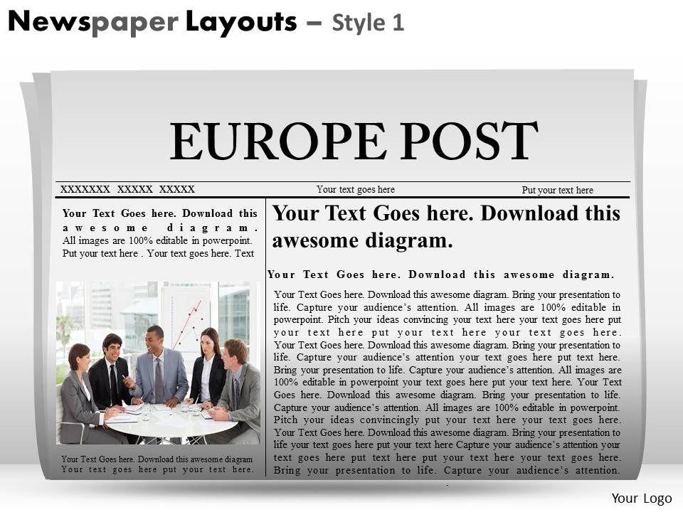2777403 Style Variety 2 Newspaper 1 Piece Powerpoint Presentation