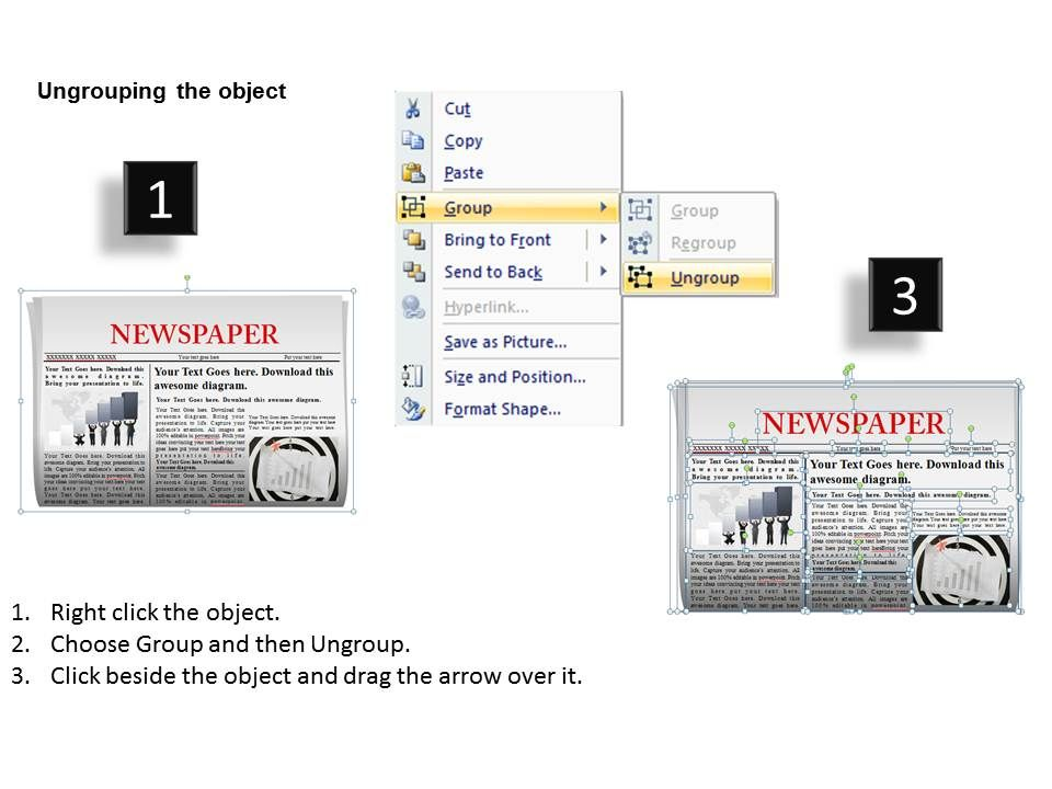 newspaper powerpoint background