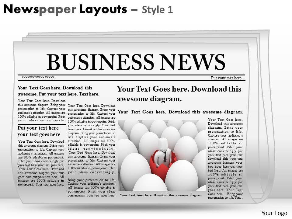newspaper powerpoint background