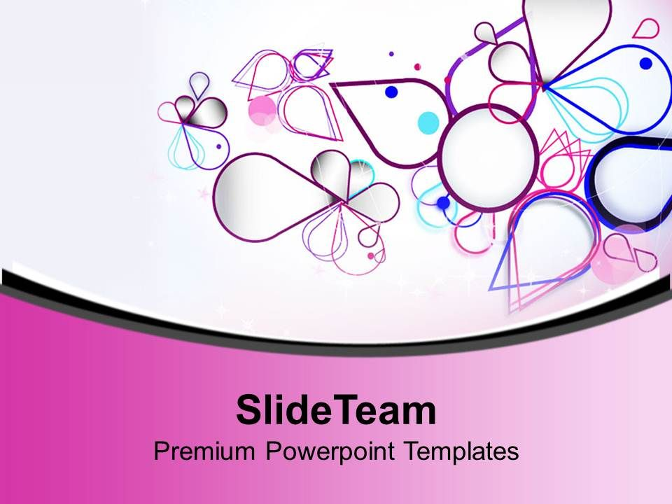 Nice Colorful Abstract Background PowerPoint Templates PPT Themes ...