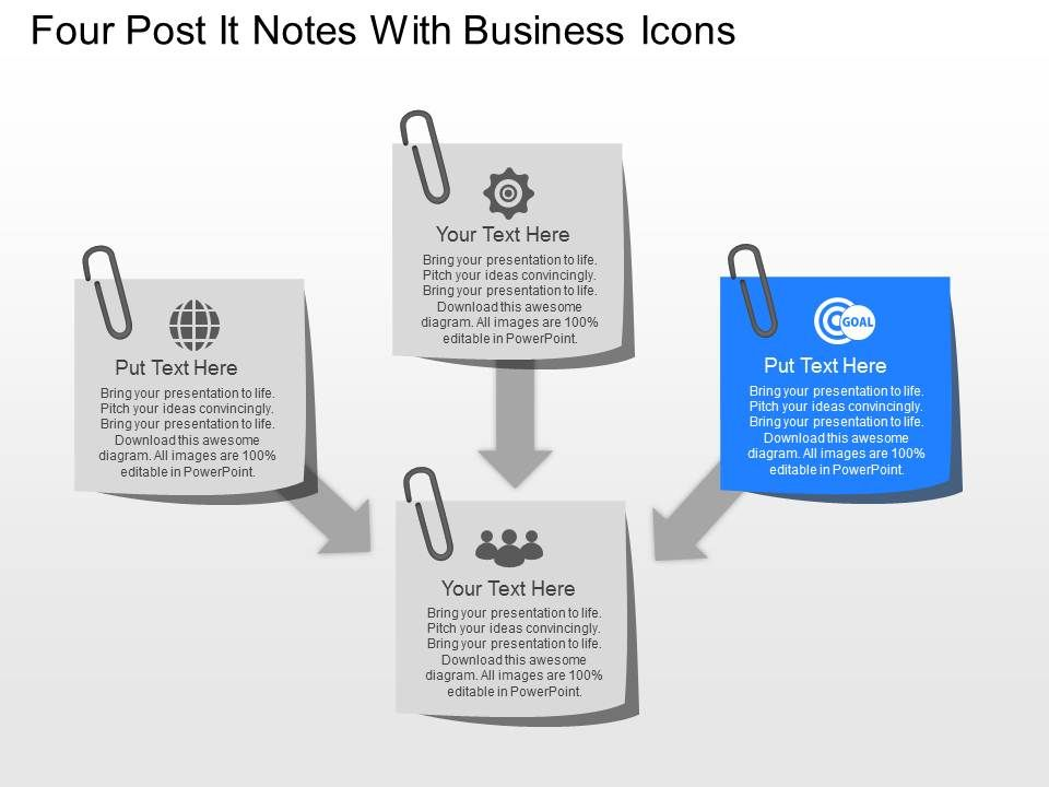 No four post it notes with business icons powerpoint template nofourpostitnoteswithbusinessiconspowerpointtemplateslide03 nofourpostitnoteswithbusinessiconspowerpointtemplateslide04 toneelgroepblik Gallery