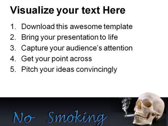 No smoking health powerpoint templates and powerpoint backgrounds no smoking health powerpoint templates and powerpoint backgrounds 0311 presentation themes and graphics slide03 toneelgroepblik Choice Image