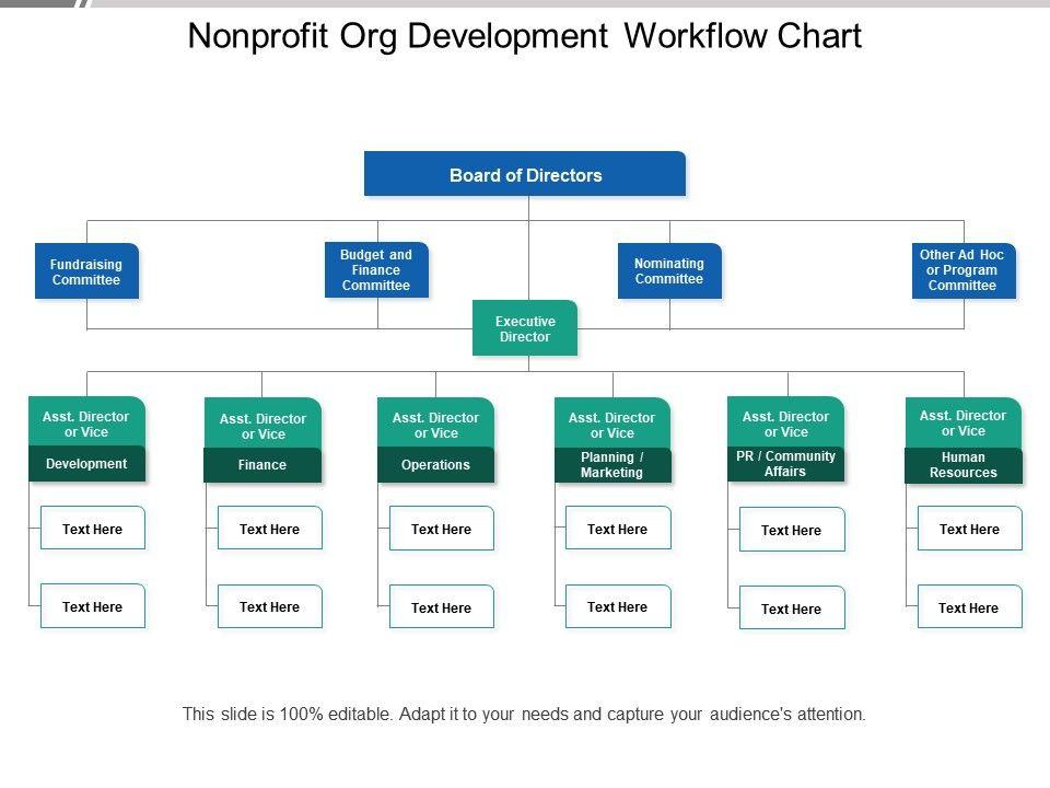 Nonprofit Org Development Workflow