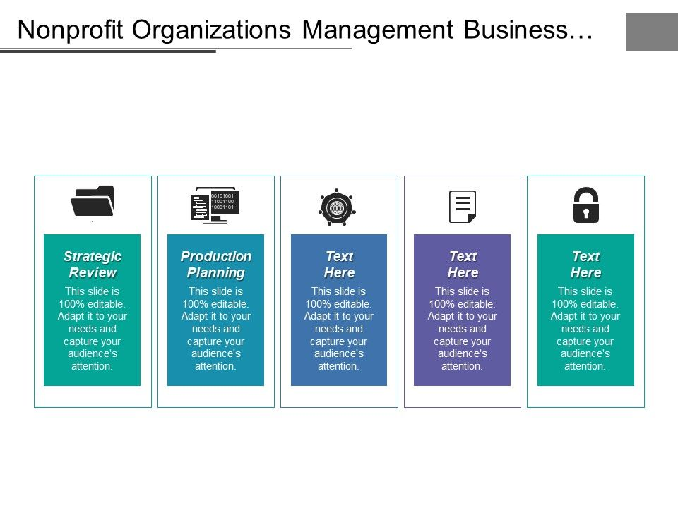 strategic management for nonprofit organizations ppt