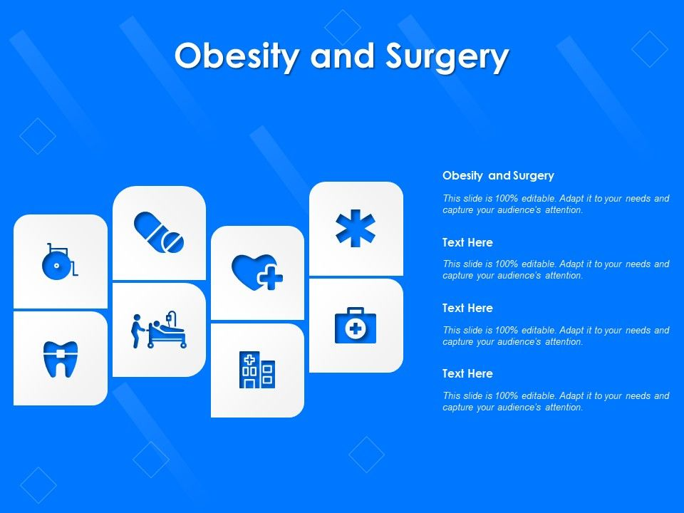Obesity And Surgery Ppt Powerpoint Presentation Ideas Design Templates Presentation Graphics Presentation Powerpoint Example Slide Templates