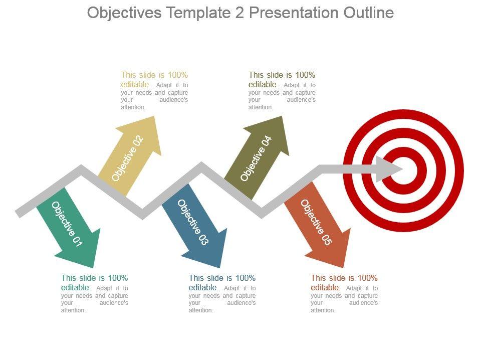 objectives template 2 presentation outline | templates powerpoint, Template For An Presentation Outline, Presentation templates