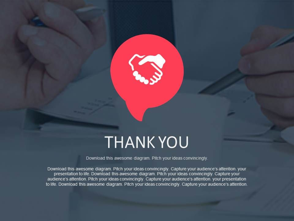 Office Background Image Thank You Slide Powerpoint Slides