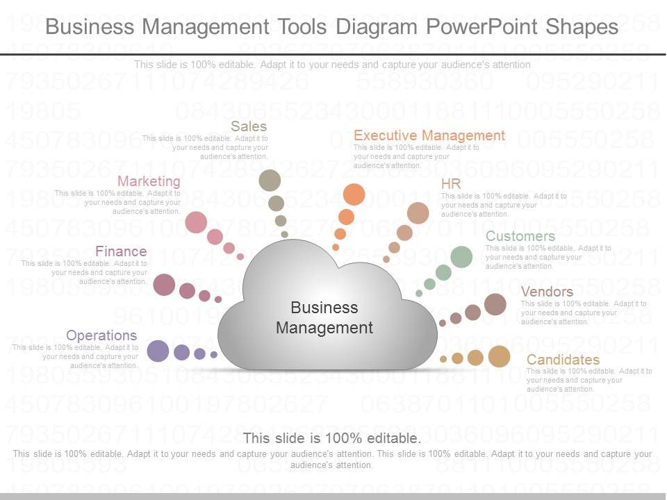 one_business_management_tools_diagram_powerpoint_shapes_Slide01
